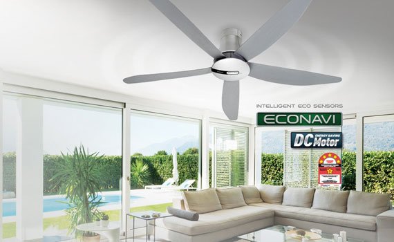 Quạt trần panasonic sử dụng công nghệ làm gió tự nhiên