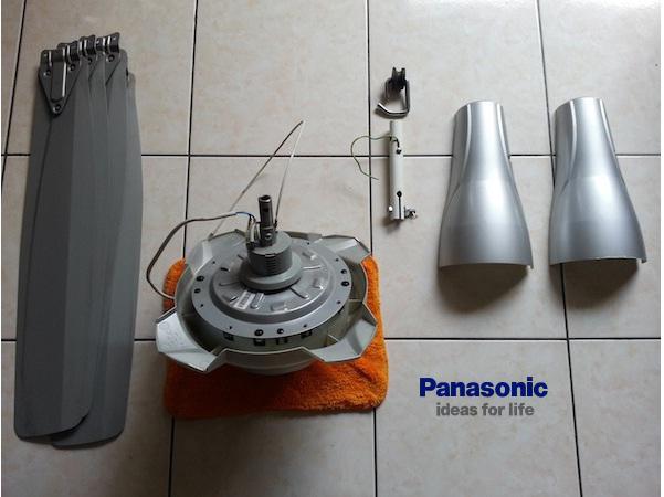 Cách lắp đặt quạt trần Panasonic đơn giản hiệu quả